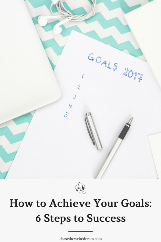 Achieve your goals and set your self up for success with these six simple tips that you can start implementing right away. Great for new year's resolutions, advancing in your career, losing weight, and more! Click through to check out the tips.