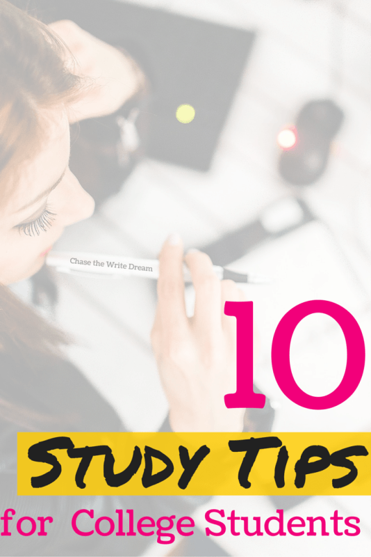 10 Study Tips for College Students