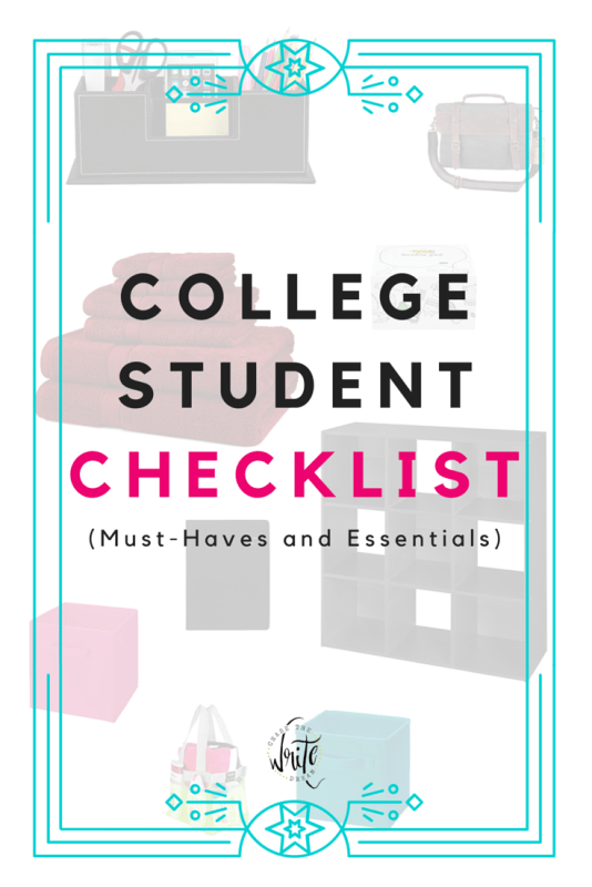College Student Essentials - Items that will help you decorate your dorm room, keep things organized, study better, and be prepared for class.