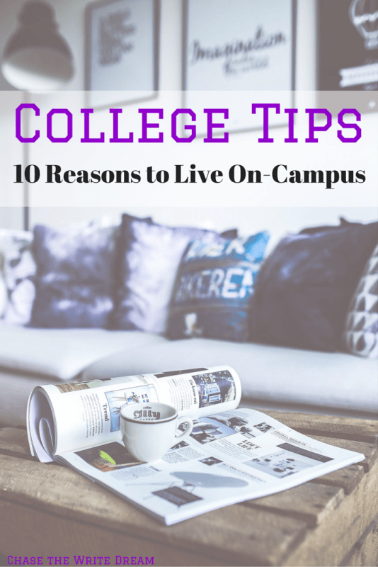 College Tips: 10 Reasons to Live On-Campus. Dorm life is exciting for some students and rough for others. Read through these 10 tips to get a better idea of why living on a college campus is beneficial!
