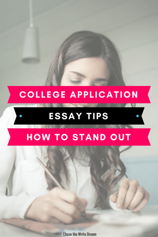 College application essay tips to help you stand out from the rest. High school students applying to college often need to write a personal statement or essay to gain admission. These tips will make sure you write your best work yet!
