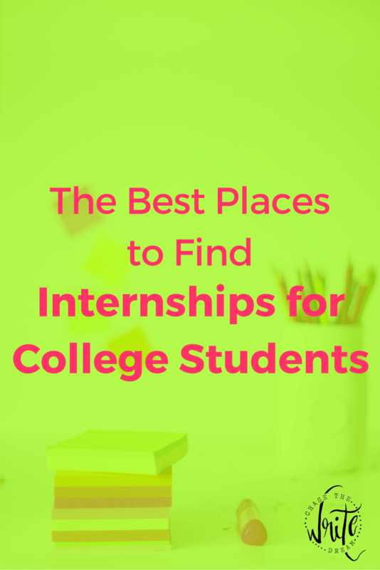 The Best Places to Find Internships for College Students | Need real life work experience? Starting on a new career path? Internships are a great stepping stone for breaking into your job field. College students should aim to participate in at least 2-3 before graduation. Click to find out where to find these positions!