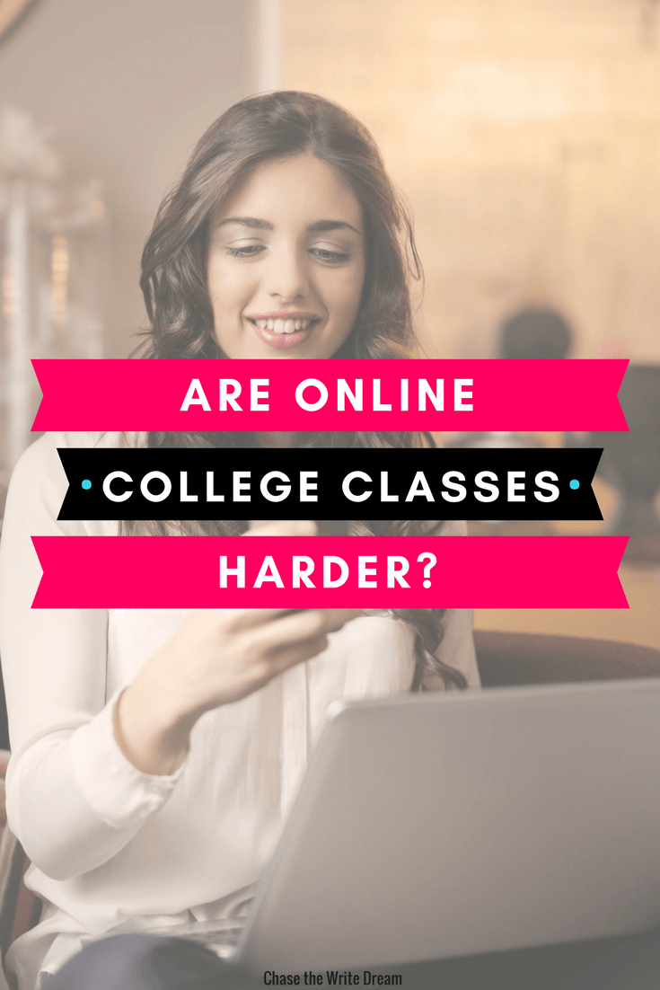 Are Online College Classes Harder than In-Person Classes?