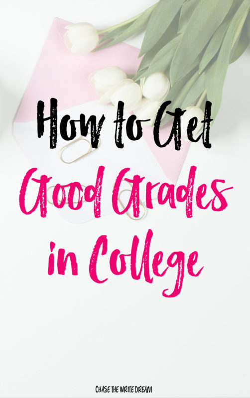How to Get Good Grades in College - Looking to up your GPA this semester? Get ahold of your college education with this simple advice for every student!
