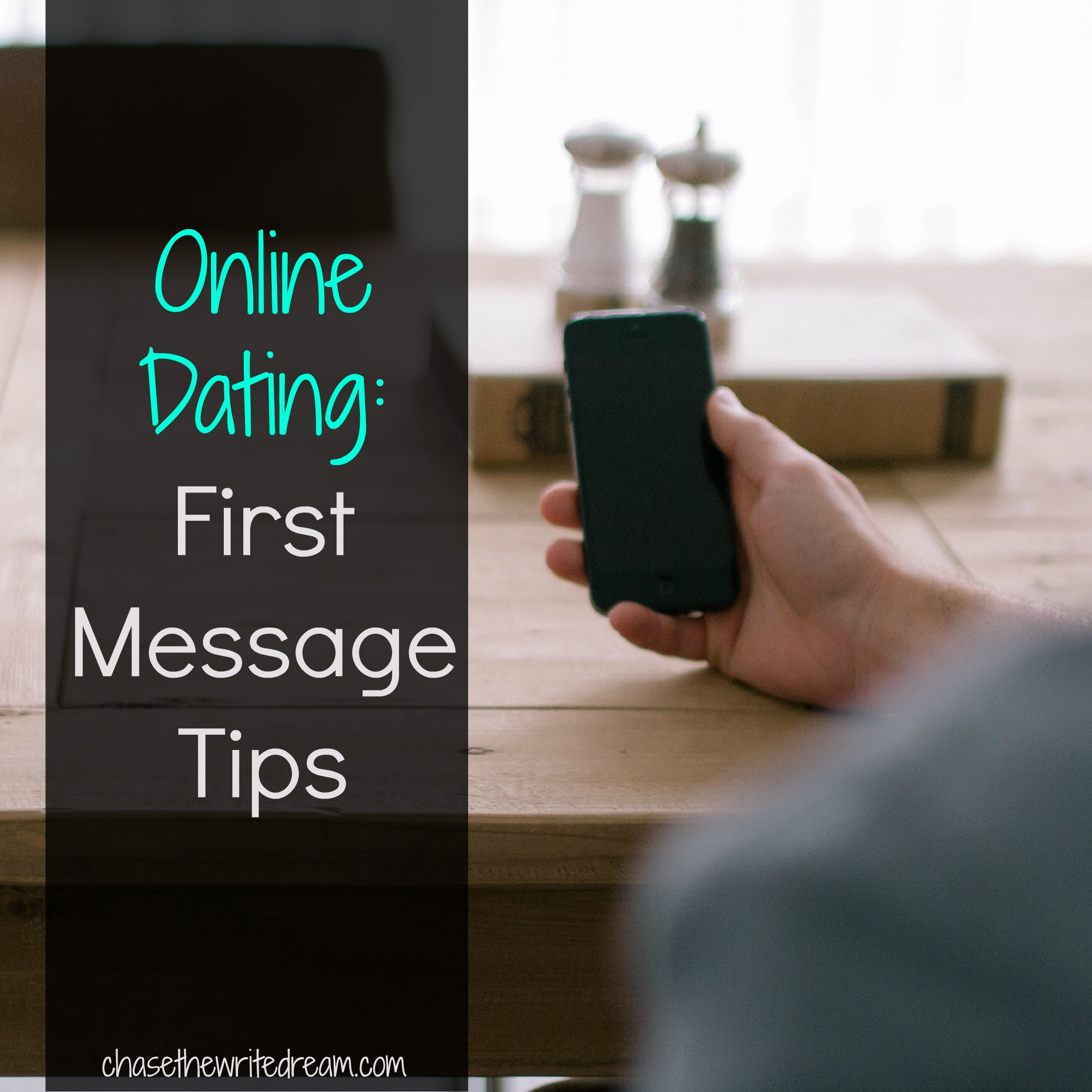 How to send first message online dating