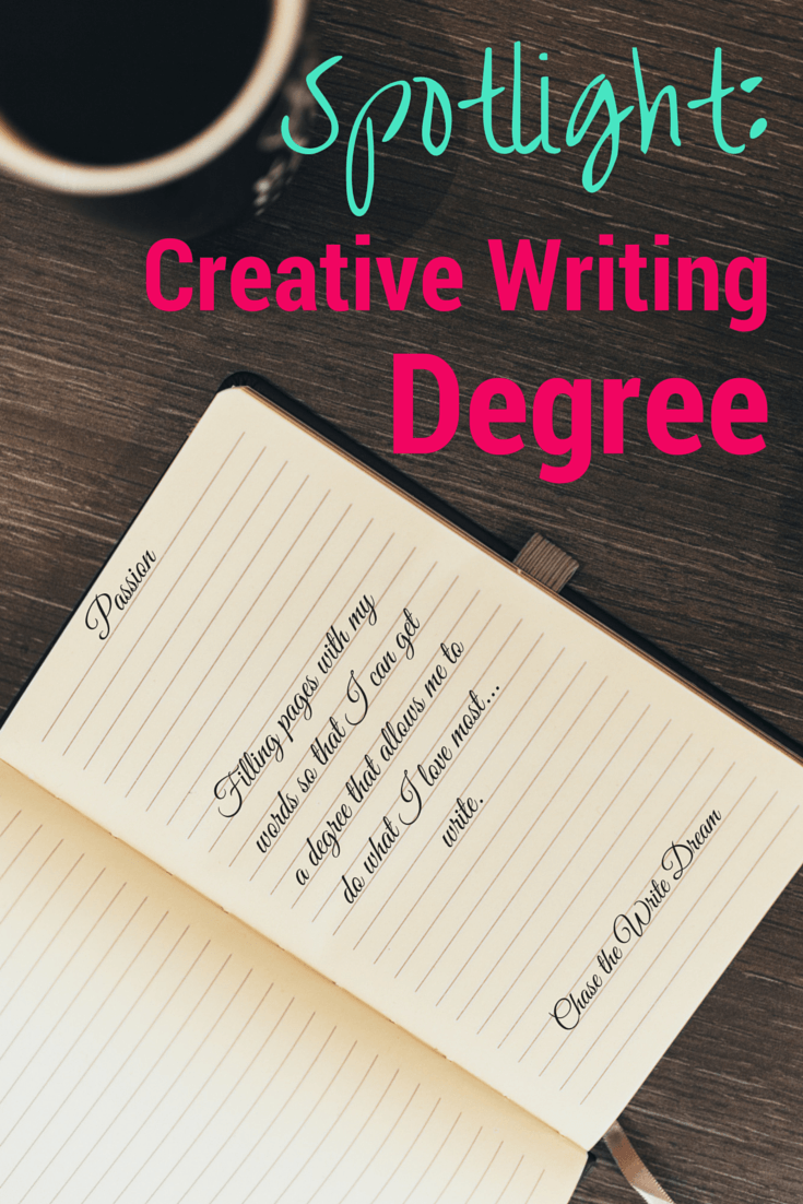 A degree in creative writing