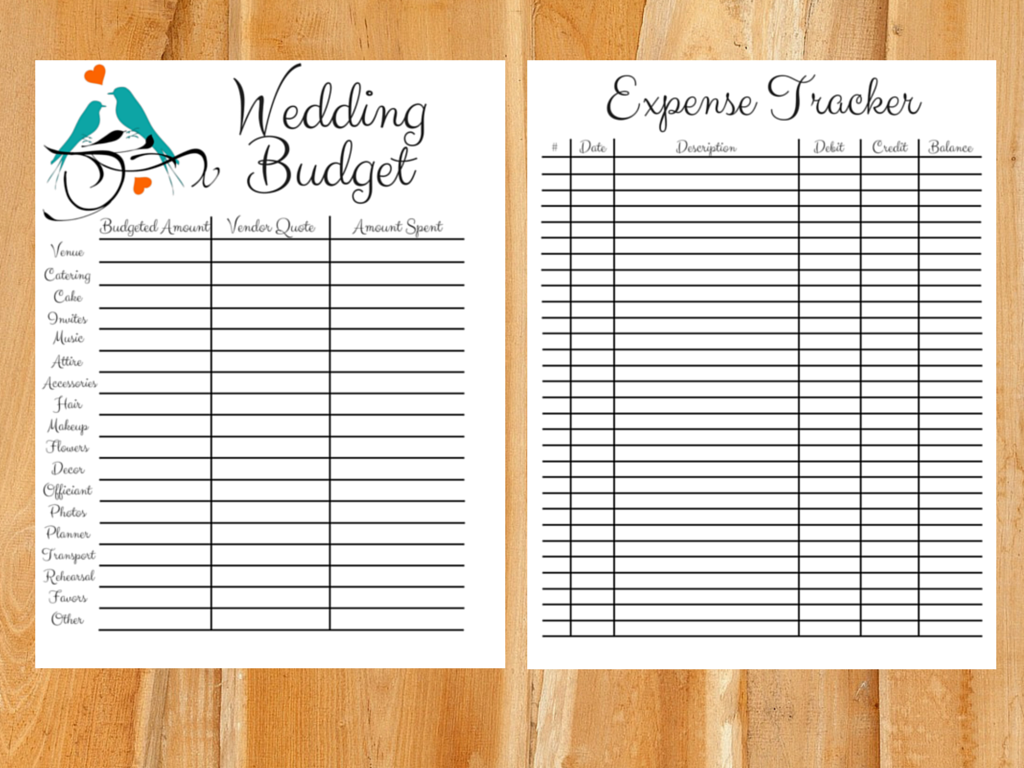 Setting a Wedding Budget (Realistically)