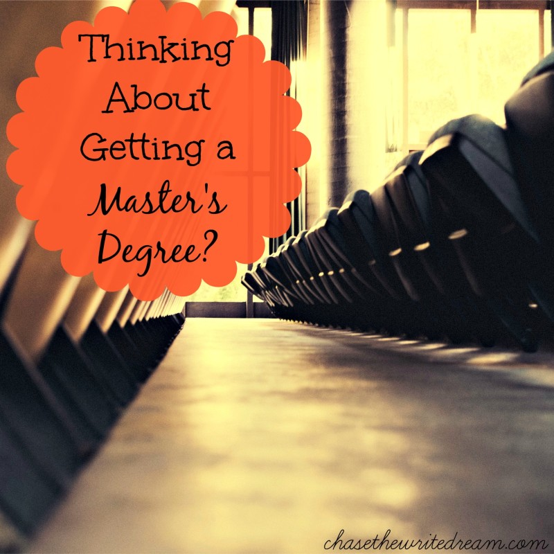 What do you consider an advanced degree?
