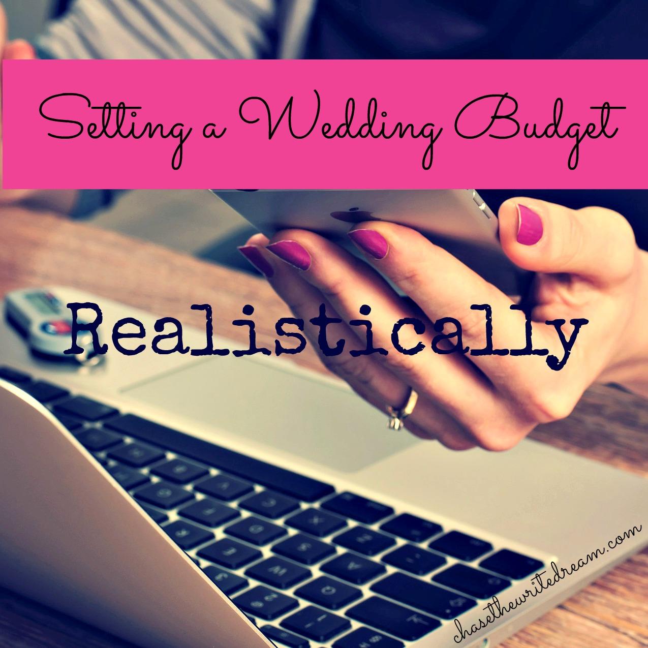 setting a wedding budget