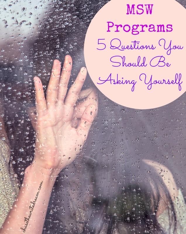 msw programs
