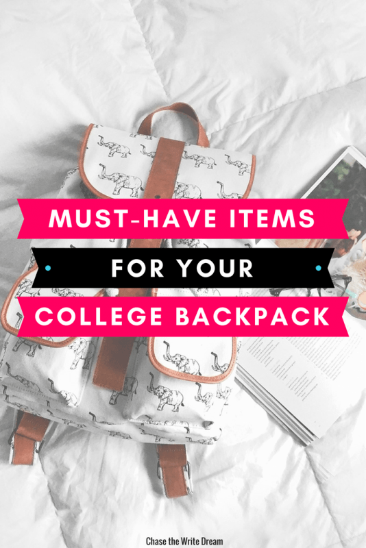 These college backpack essentials will keep you prepared for class and campus life. Click through to check out these college student essentials.