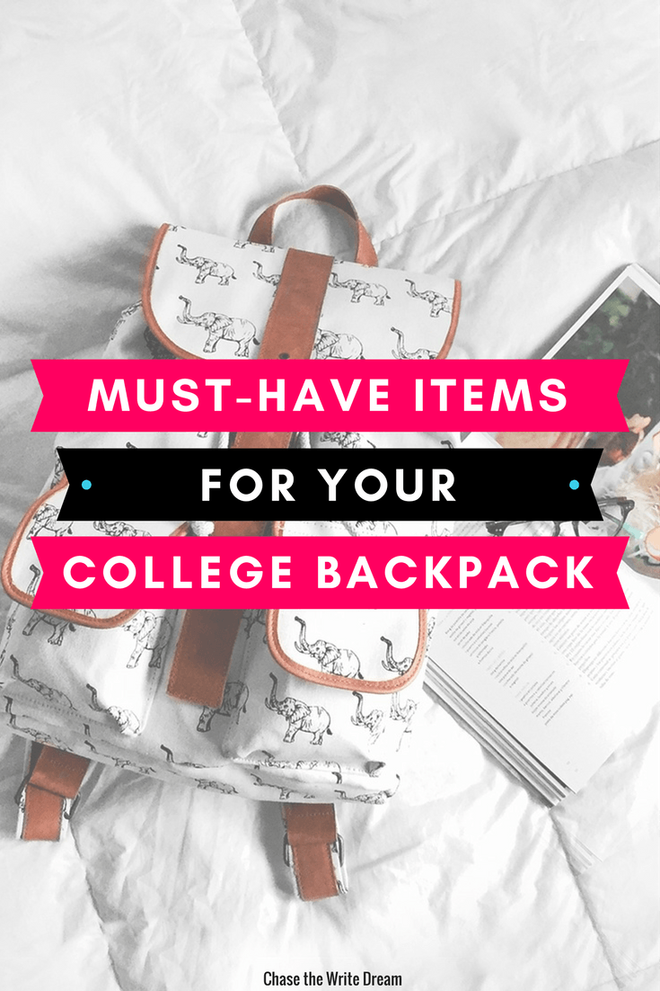 Must-Have Items for Your College Backpack
