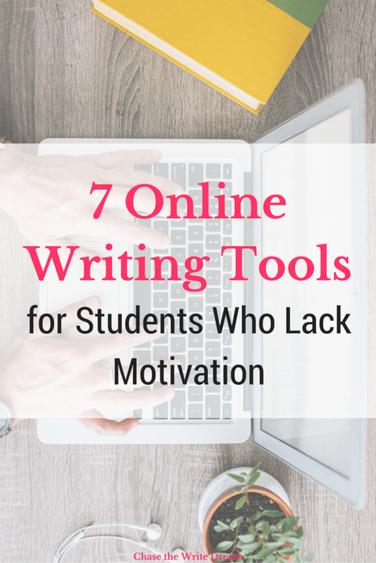 The Top 7 Online Writing Tools for Students Who Lack Motivation | If you're a college student (or high schooler) who needs help with writing papers or getting ideas for essays, then you won't want to miss out on this post! There are tons of great resources for students included. Repin for future reference!
