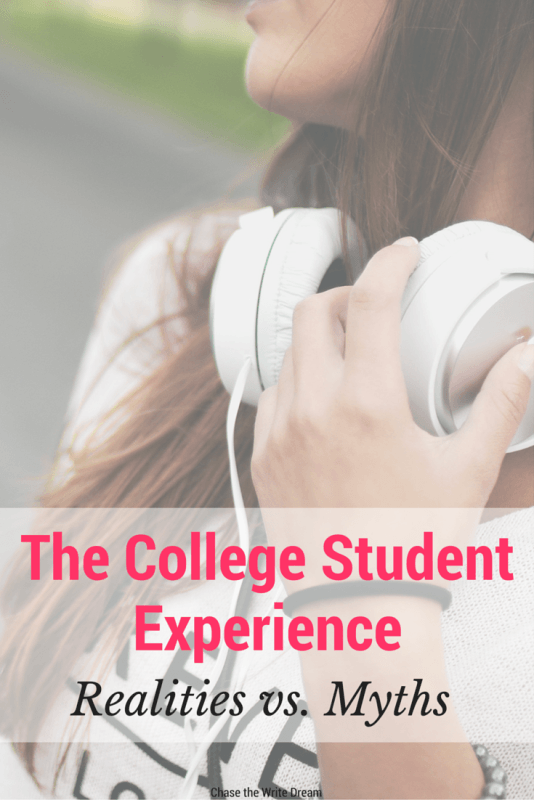 The College Student Experience: Realities vs. Myths | What is really true about being a college student? This post tells you what's fact or fiction when it comes to higher education. Lots of great advice and info included for current and former students
