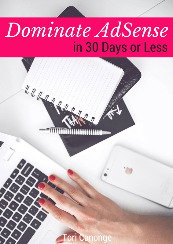 Dominate AdSense in 30 Days or Less | Are you a blogger who uses Google AdSense or wants to make money from your blog? Check out these tips for increasing your income. Yes, ads can actually make you money!
