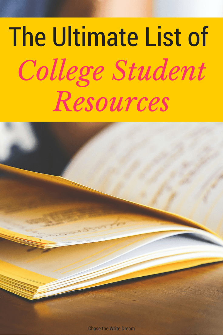 the ultimate list of college student resources