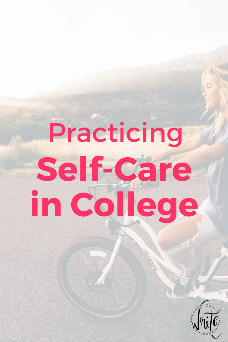 Practicing Self-Care in College | Taking care of yourself as a college student is important if you want to get good grades, study effectively, and learn the material in class. Make sure your brain and body are up-to-par with these tips. Click through to read my advice for implementing self-care into your daily routine!