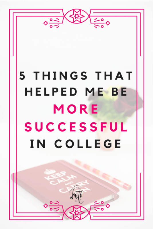 5 Things That Helped Me Be More Successful in College | Freshman year was tough. After not making the grades I wanted, I learned how to manage my time better and I picked up some study habits that not only improved my grades, but freed up time as well. These college student tips offer great advice no matter where you're at in your education. Click through to read what helped me be successful!