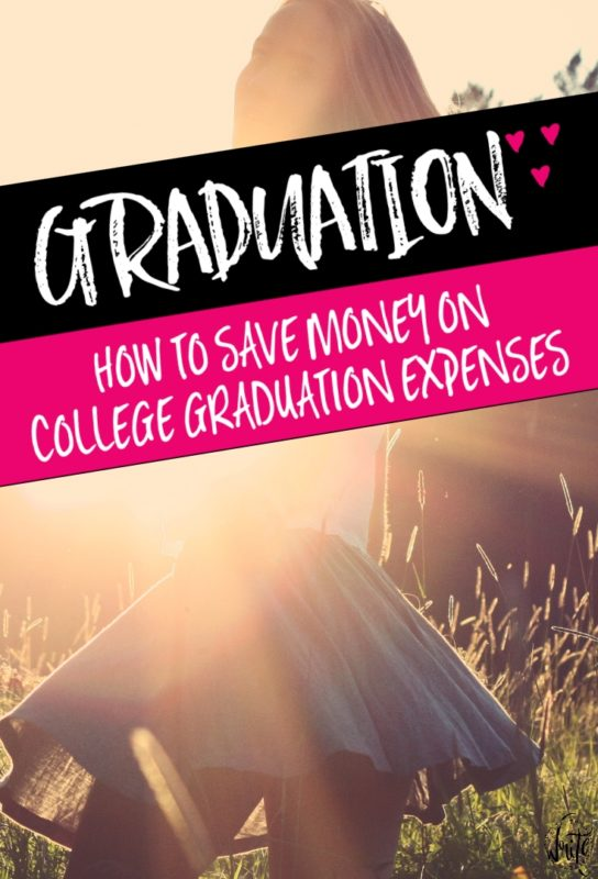 How to Save Money on College Graduation Expenses | Looking for more ways to save money as a college student? Start planning how you can reduce grad party expenses, as well as student loan debt. Click through to read more!