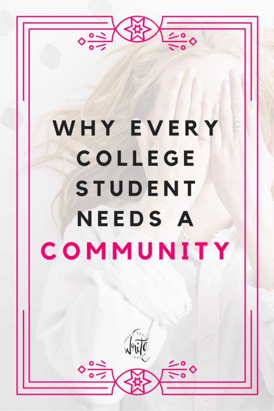 Every college student needs a group of people they can lean on during tough times. Consider it part of self-care! Take a look at why every college student needs a community and how you can get involved in one right now!