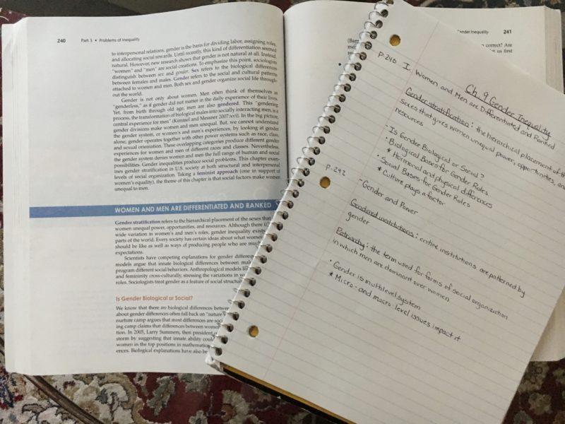 Note Taking Tips for College Students - Did you know that the way you write notes and study for exams plays a big factor in your grades? Check out this easy-to-follow format, plus tips for college success!