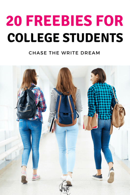Freebies for college students - get free stuff for being a student! Includes printables, software deals, budgeting sheets, and more.