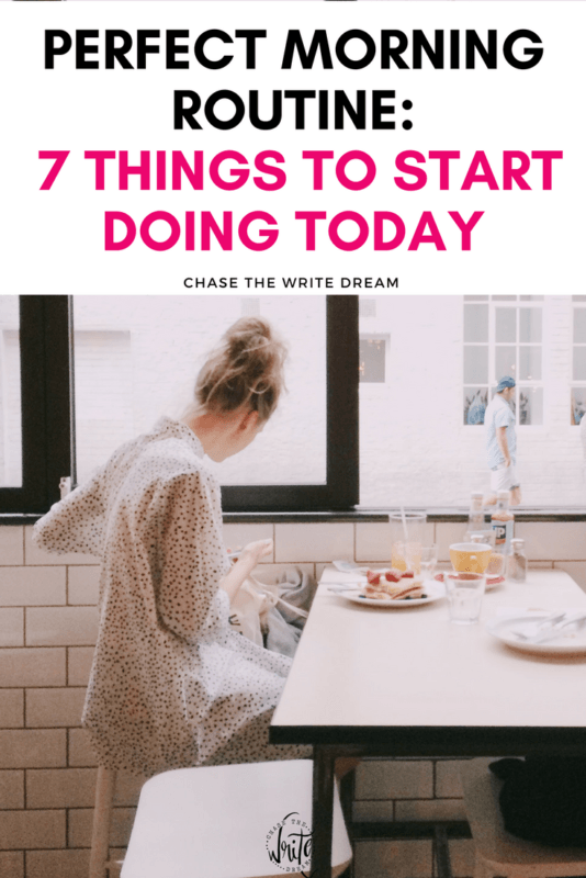 Create a perfect morning routine that works for you! Increase your energy, nourish your body, and start moving with these tips. Great for busy people, millennials, career-focused individuals, and more. Stop procrastinating and have a successful day! Click through to read.